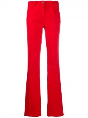 Расклешенные брюки с завышенной талией Giambattista Valli. Цвет: красный
