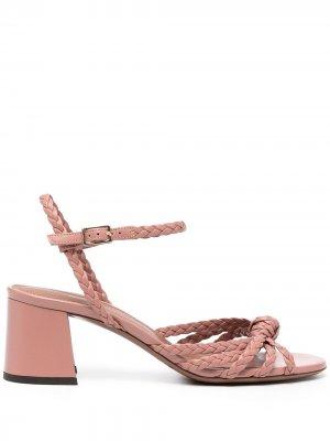 LAutre Chose босоножки с плетеными ремешками L'Autre. Цвет: розовый