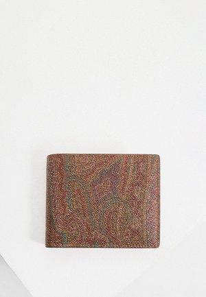 Кошелек Etro. Цвет: коричневый