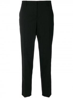 Зауженные брюки строгого кроя Nº21. Цвет: черный