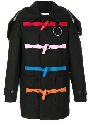 Классический бушлат Givenchy. Цвет: чёрный
