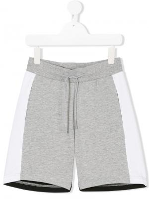 Спортивные шорты со шнурком на талии Antony Morato Junior. Цвет: серый