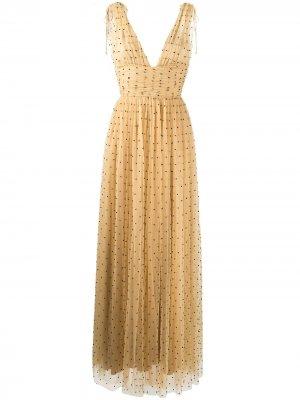 Вечернее платье Tayla Maria Lucia Hohan. Цвет: нейтральные цвета