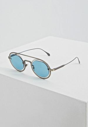 Очки солнцезащитные Giorgio Armani. Цвет: голубой