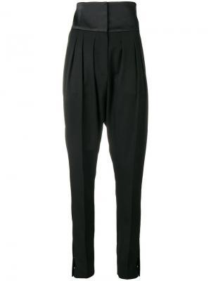High waist tailored trousers Lanvin. Цвет: черный