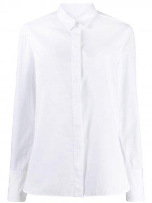 Рубашка с длинными рукавами Jil Sander. Цвет: белый
