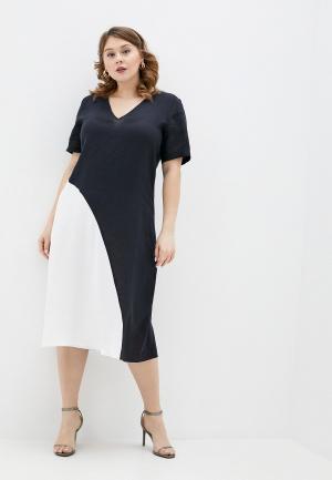 Платье Persona by Marina Rinaldi. Цвет: черный