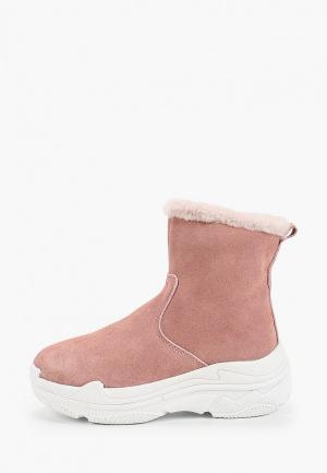 Полусапоги Calipso. Цвет: розовый