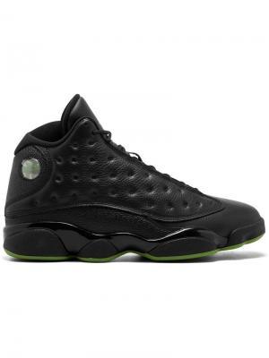 Кроссовки Air  13 Retro Jordan. Цвет: черный