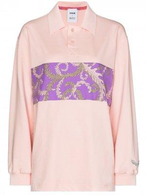 Рубашка поло с принтом Emilio Pucci. Цвет: розовый