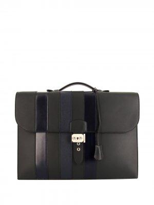 Портфель Sac à Dépêches pre-owned Hermès. Цвет: синий