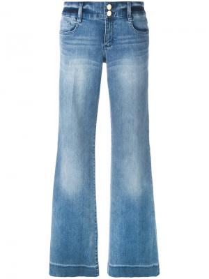 Широкие джинсы Michael Kors. Цвет: синий