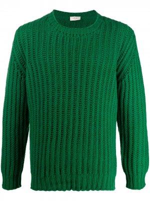 Джемпер с длинными рукавами Altea. Цвет: зеленый