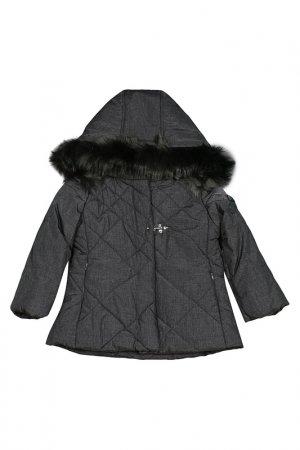 Куртка LAURA BIAGIOTTI DOLLS. Цвет: серый