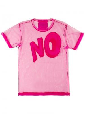 Футболка  No. Icon 1.2 Viktor & Rolf. Цвет: розовый