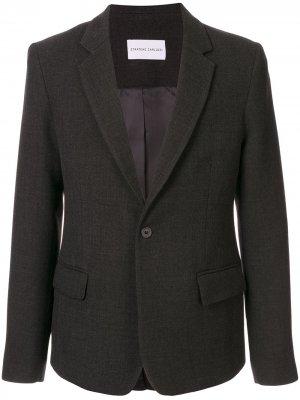 Однобортный пиджак Proto Strateas Carlucci. Цвет: серый
