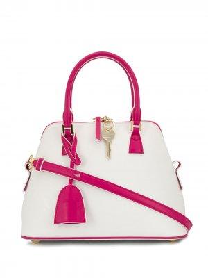 Маленькая сумка-тоут 5AC Maison Margiela. Цвет: белый