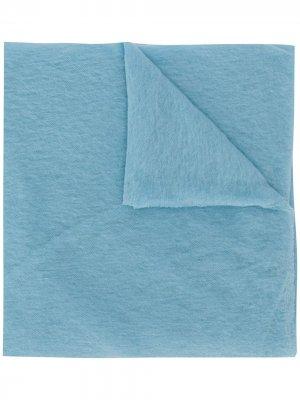 Объемный шарф Altea. Цвет: синий