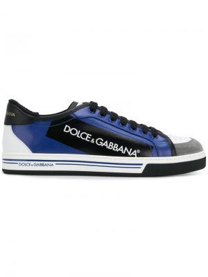 Кроссовки Roma Dolce & Gabbana. Цвет: синий