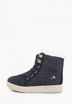 Ботинки Viking. Цвет: синий