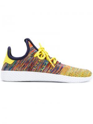 Кроссовки adidas Originals x Pharrell Wililams Tennis Hu by Williams. Цвет: желтый