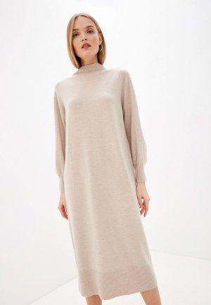 Платье Laurel. Цвет: бежевый