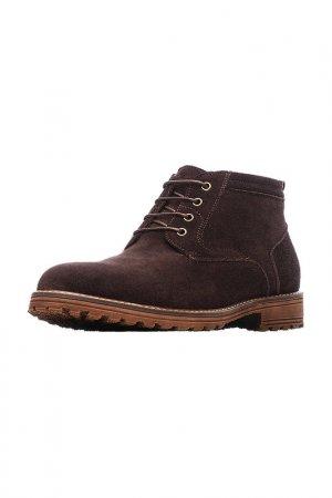 Ботинки MILANA. Цвет: темно-кофейный