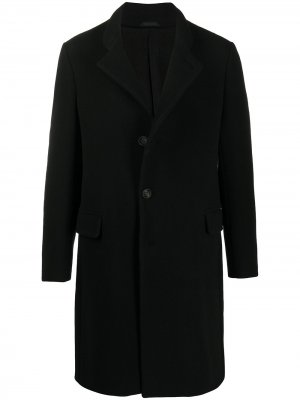 Пальто на пуговицах Giorgio Armani. Цвет: черный