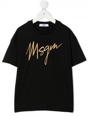 MSGM KIDS 025193 110. Цвет: черный