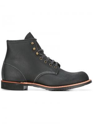 Ботинки на шнуровке Red Wing Shoes. Цвет: черный