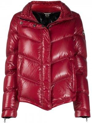 Куртка-пуховик на молнии Colmar. Цвет: красный