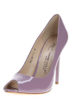 Туфли MARIE COLLET. Цвет: лиловый