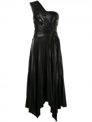 Драпированное платье Jonathan Simkhai. Цвет: черный