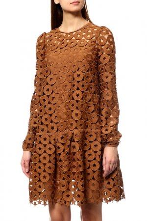Платье N°21. Цвет: бежевый