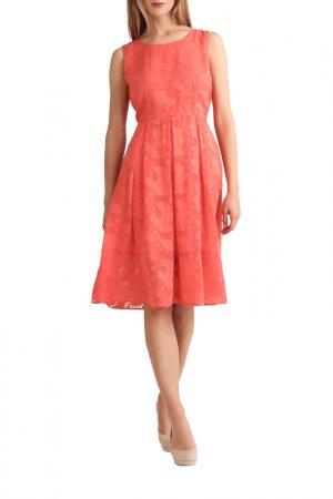 Платье Apart. Цвет: коралловый
