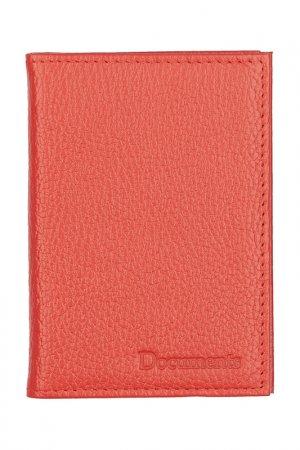 Обложка для паспорта KIN. Цвет: красный