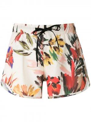 Пляжные шорты Sun Garden Osklen. Цвет: разноцветный