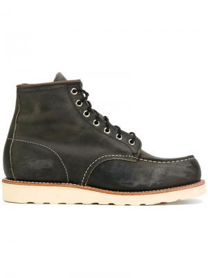 Ботинки со шнуровкой Red Wing Shoes. Цвет: коричневый