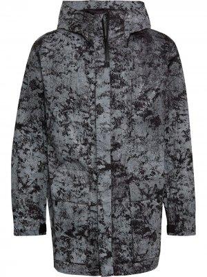 Фактурная куртка со светоотражающим эффектом Y-3. Цвет: серый