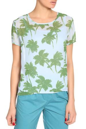 Блузка BGN. Цвет: зеленый