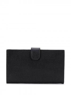 Бумажник 1998-го года Chanel Pre-Owned. Цвет: черный