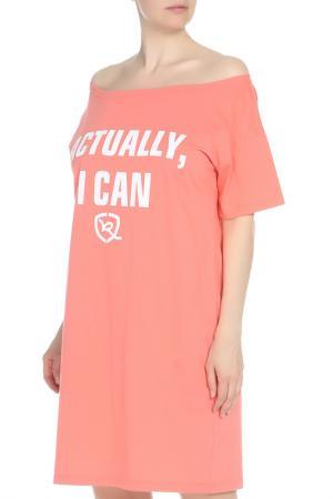 Платье Rocawear. Цвет: розовый