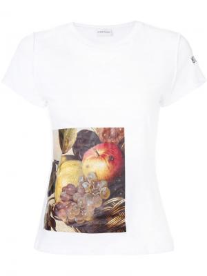 Футболка Caravaggio Au Jour Le. Цвет: белый