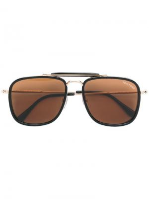 Huck sunglasses Tom Ford Eyewear. Цвет: черный