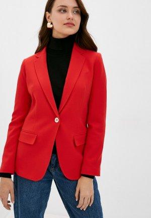 Пиджак United Colors of Benetton. Цвет: красный