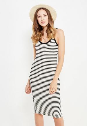 Платье Mango. Цвет: черно-белый
