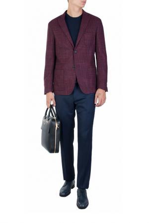 Пиджак Corneliani. Цвет: бордовый