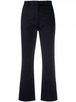 Укороченные брюки bootcut Department 5. Цвет: синий