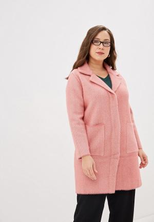 Пальто Winzor. Цвет: розовый