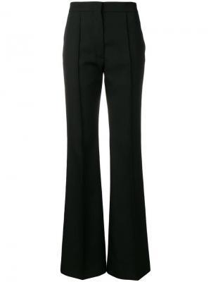 Классические расклешенные брюки Rochas. Цвет: черный